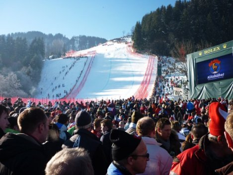 Kitzbuhel race day