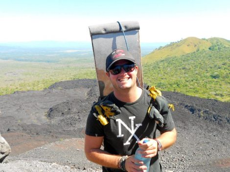 Nicaragua, Leon, Volcano, adventure