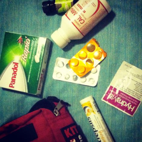 avoiding sickness abroad