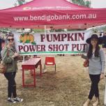 Pumpkin shot put - Goomeri